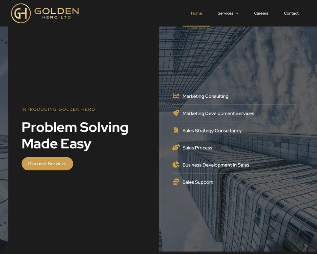 golden-hero-creare-site-prezentare