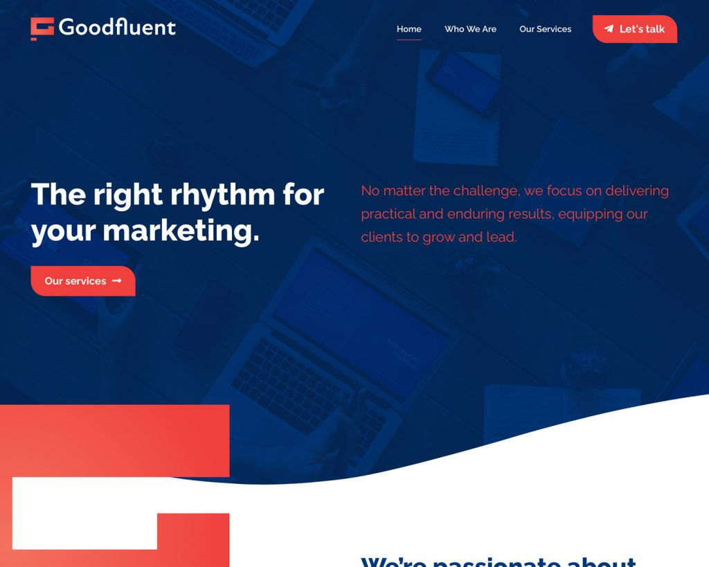 good-fluent-creare-site